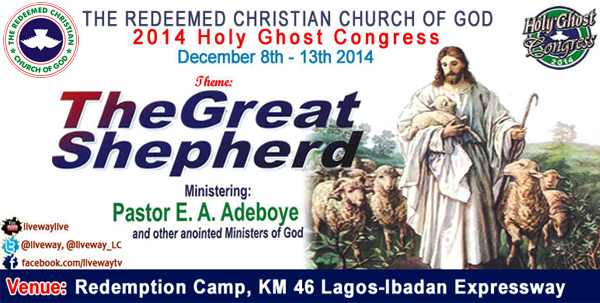 "2014 Holy Ghost Congress. ""The Great Shepherd"""