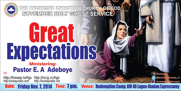 "October Holy Ghost Service. ""Overflowing Greatness"""