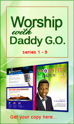 Get your copy of Worship with Daddy G.O.